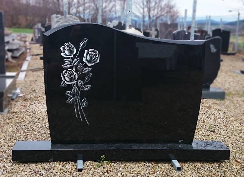 Hrob růže