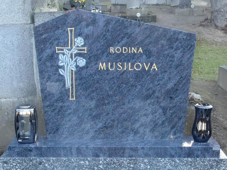Pomník z modrého kamene Vizag