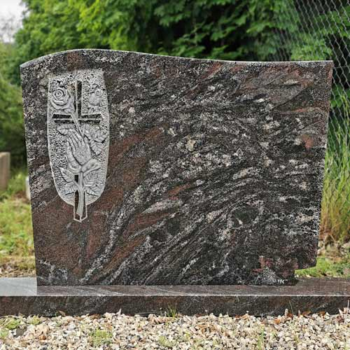 Náhrobní kámen na dvojhrob