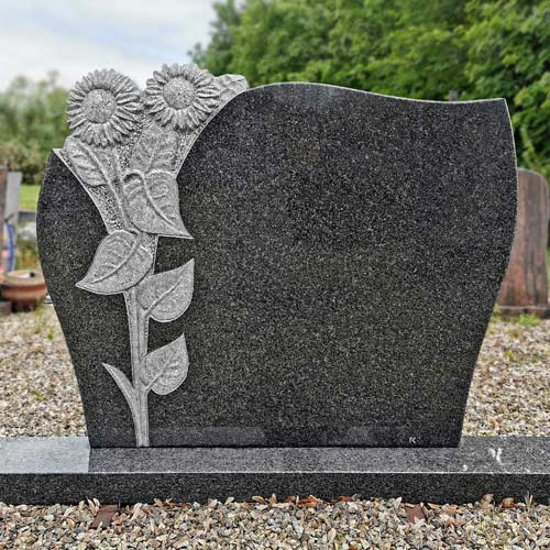 Pomník se slunečnicemi