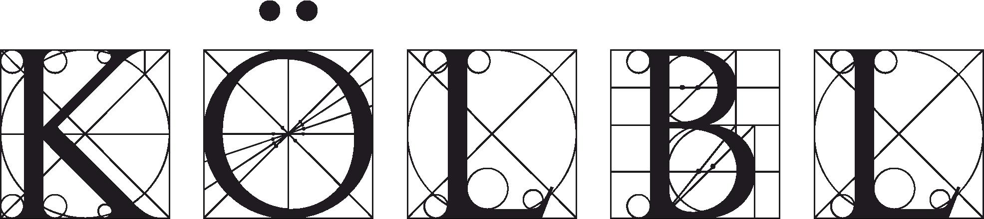 Kölbl Kamenictví - Rozvržení písmen