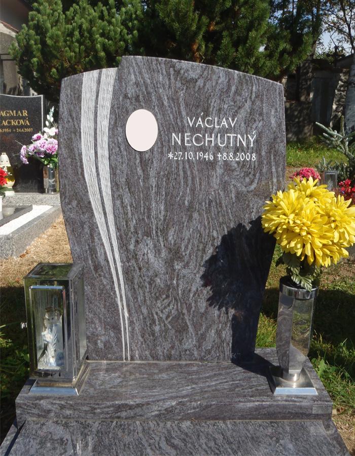 Jednoduchý urnový hrob